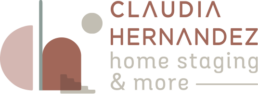Logo home staging Claudia Hernández